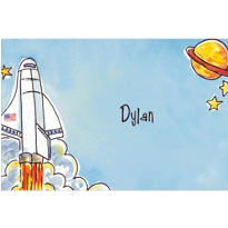 Outerspace Adventure Custom Thank You Note