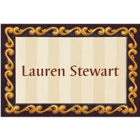 White Grad Portrait Custom Thank You Notes