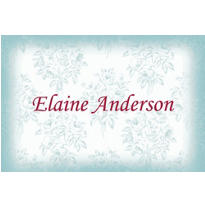Toile Applique Custom Thank You Note
