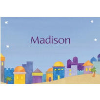Jerusalem at Twilight Custom Thank You Note