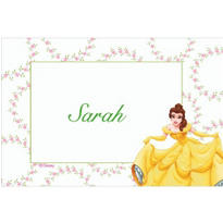 Belle and Floral Garlands Custom Thank You Note