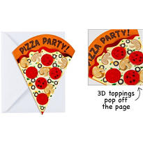 Perfect Slice Large Invitations 8ct