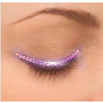 Purple Eyelid Jewel