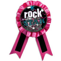 Rocker Girl Award Ribbon
