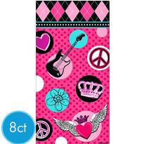 Rocker Girl Paper Bags 8ct