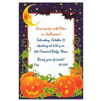 Pumpkin Patch Custom Invitation