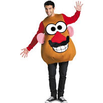 Adult Mr. and Mrs. Potato Head Costume Deluxe