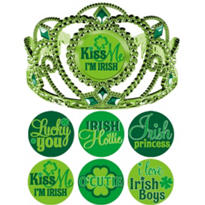 Customizable St. Patricks Day Tiara 5in