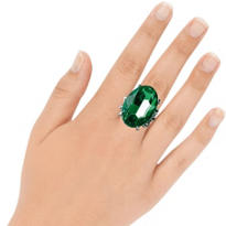 St. Patricks Day Cocktail Ring