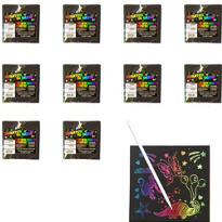 Scratch Art Sheets 24ct