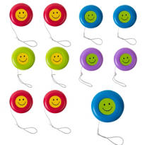 Smiley Face Yo-Yos 48ct
