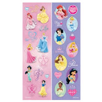 Disney Princess Dreams Sticker Strip 2 Sheets