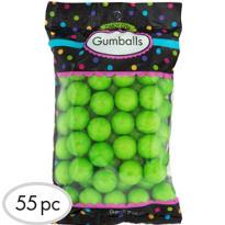 Kiwi Green Gumballs 55pc