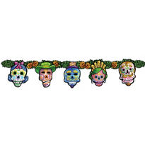 Day of the Dead Jointed Banner 4 1/2ft