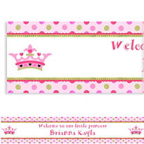 New Little Princess Custom Banner 6ft