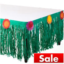 Fiesta Tissue Table Skirt