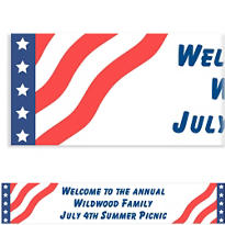 All American Custom Banner 6ft