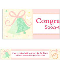 Tying the Knot Custom Wedding Banner
