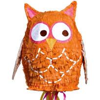 Pull String Owl Pinata