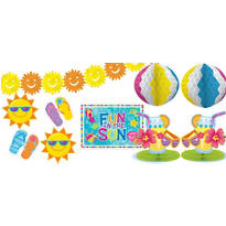 Fun in the Sun Decoration Kit 10pc