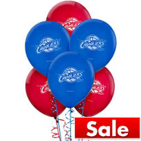 Cleveland Cavaliers Latex Balloon 12in 6ct