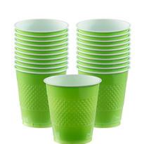 Kiwi Plastic Cups 20ct