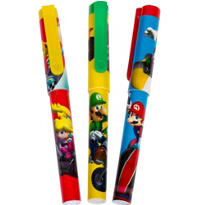 Super Mario Rope Pens 3ct