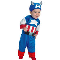 Baby Captain America Costume