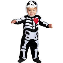 Baby XO Skeleton Costume