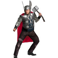 Adult Thor Costume Plus Size Prestige