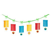 Sesame Street 1st Birthday Garland 12ft