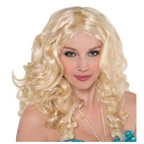 Blonde Mermaid Wig