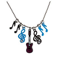 Rock n Roll Charm Necklace