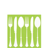 Kiwi Tablesetting Beverage Napkins 16ct