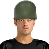 Green Army Helmet