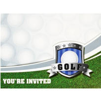 Birdie Golf Invitations 8ct