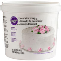White Creamy Decoration Icing 4.5lbs