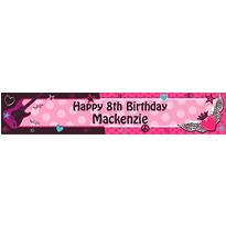 Custom Rocker Girl Banner 6ft