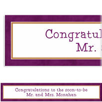 Custom Plum Border Banner 6ft