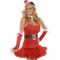 Adult Santa Baby Costume Kit 5pc