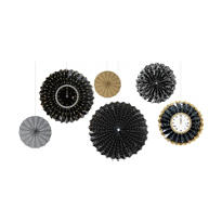Assorted New Years Fan Decorations 6ct