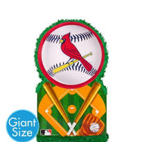 Giant St. Louis Cardinals Pinata 22in x 22in