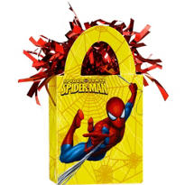Yellow Spider-Man Balloon Weight