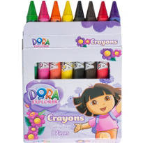 Dora the Explorer Crayons 8ct