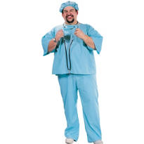 Adult Doctor Costume Plus Size