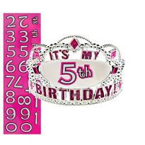 Happy Birthday Personalized Tiara