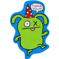 Uglydoll Thank You Notes 8ct