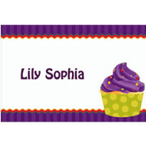 1st Cupcake Custom Thank You Note