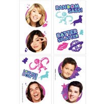 iCarly Tattoos 16ct