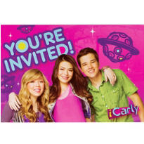iCarly Inviations 8ct